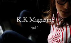 K.K Magazine Vol.1 掲載商品一覧